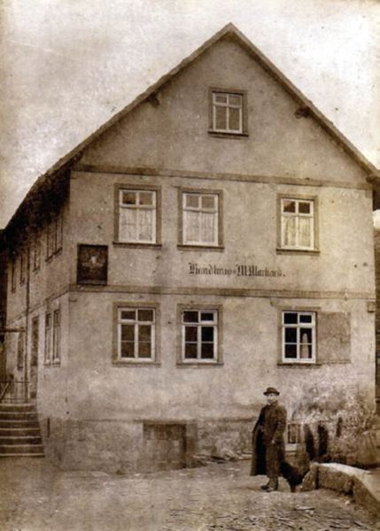 Mahlmeister historische Ansicht